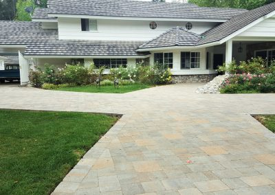 Genesis Stoneworks Paver Driveway 13