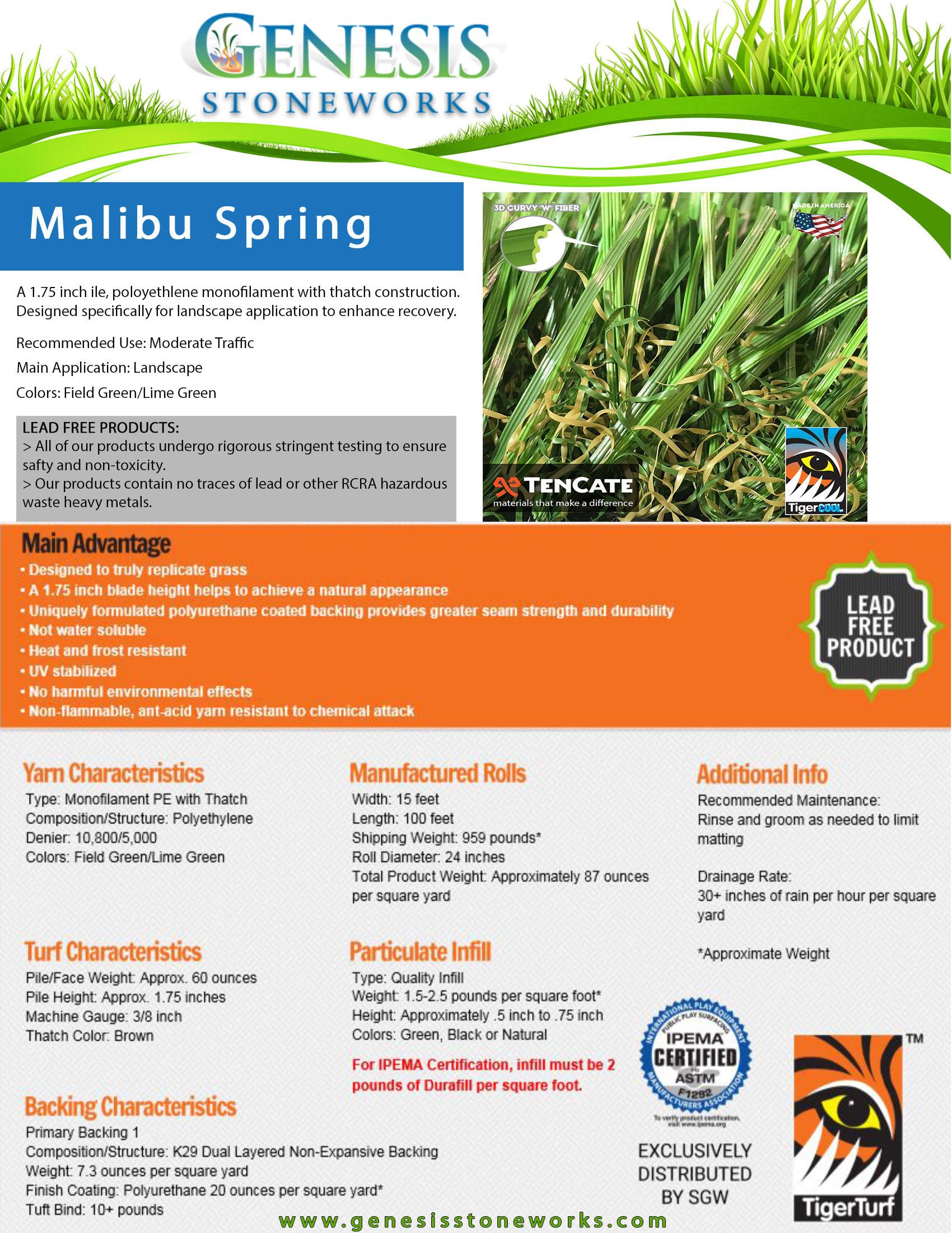 Malibu_Spring_SpecSheet