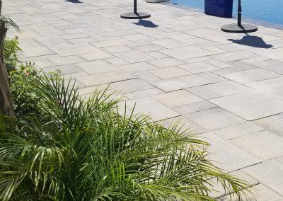 Genesis Stoneworks pool deck Angelus pavers Paseo I Paseo II