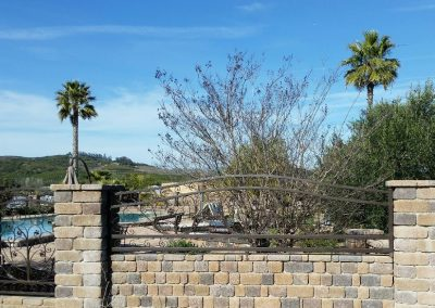 Genesis Stoneworks Country Manor Fence Wall