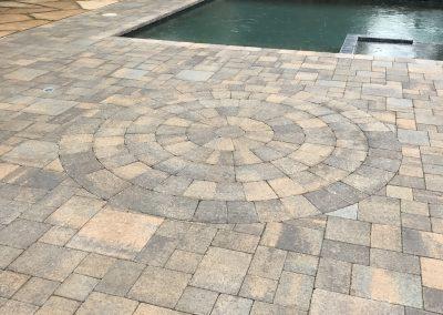 Genesis Stoneworks Angelus Paver Courtyard Stone Ashlar pool deck pavers