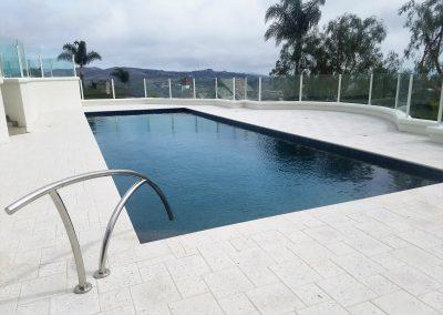 Genesis Stoneworks pool deck Artistic pavers shellock